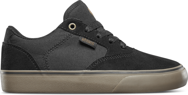 ETNIES Blitz Shoes Kids Black/Gum FOOTWEAR - Youth and Toddler Skate Shoes Etnies