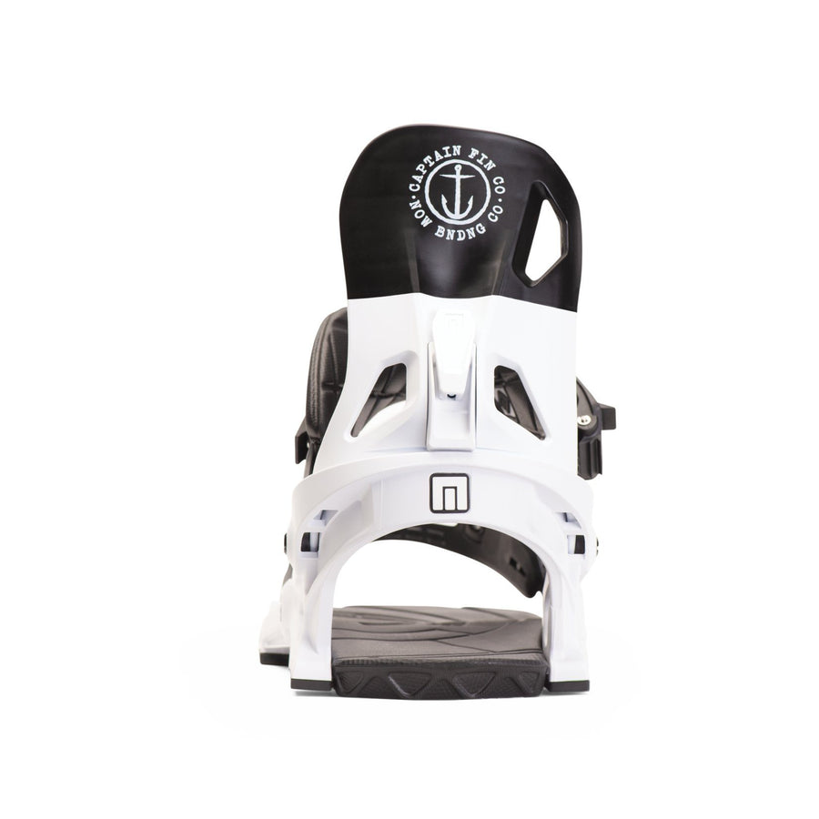 NOW X CAPTAIN FIN Snowboard Bindings White 2020