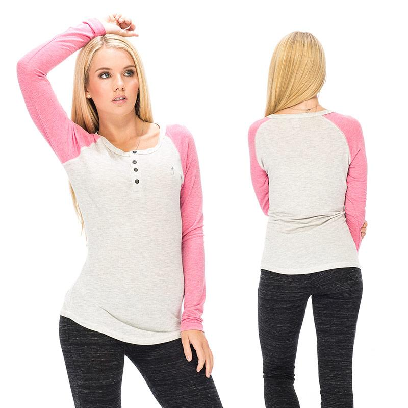 RDS Nala L/S Henley Womens WOMENS APPAREL - Women's Long Sleeve T-Shirts RDS