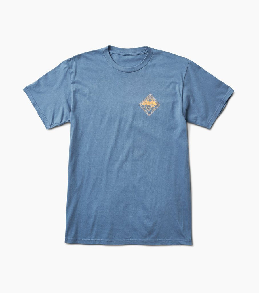 ROARK Other Sunsets T-Shirt Blue