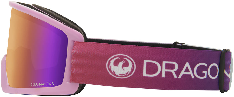 DRAGON DX3 Candy - Lumalens Purple Ion Snow Goggle GOGGLES - Dragon Goggles Dragon