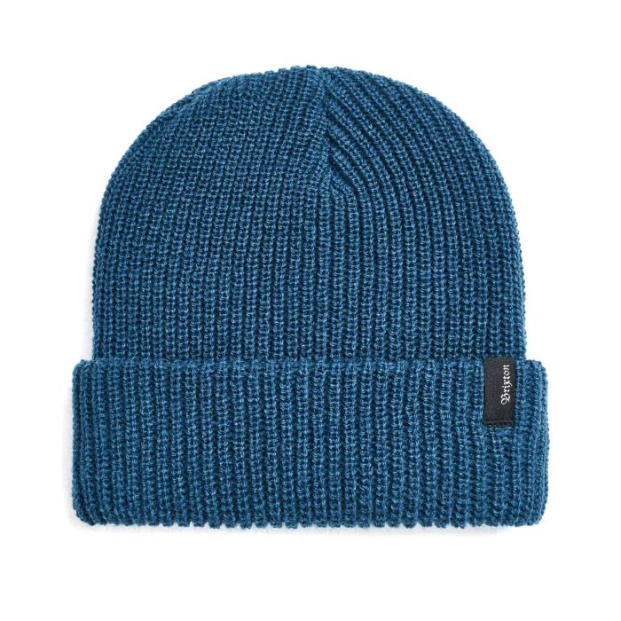 BRIXTON Heist Beanie Orion Blue MENS ACCESSORIES - Men's Beanies Brixton