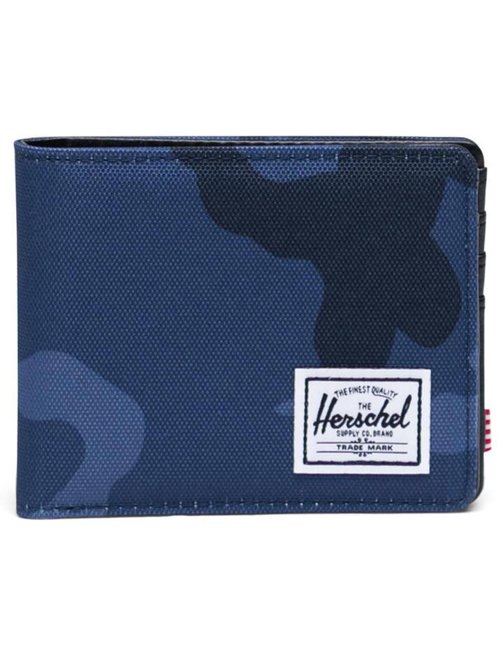 HERSCHEL Hank Wallet Peacoat Camo MENS ACCESSORIES - Men's Wallets Herschel Supply Company
