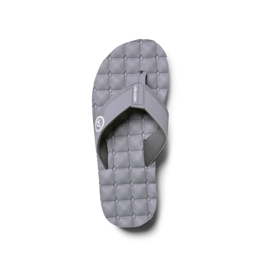 VOLCOM Recliner Sandals Light Grey