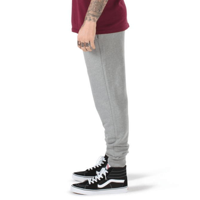 VANS Basic Fleece Sweat Pants Cement Heather MENS APPAREL - Men's Sweatpants Vans