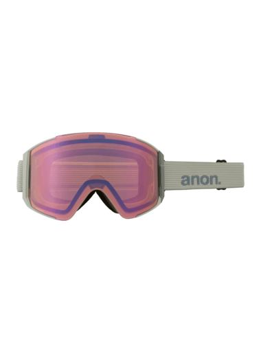 ANON Sync Grey - Perceive Variable Blue + Perceive Cloudy Pink Snow Goggles GOGGLES - Anon Goggles Anon