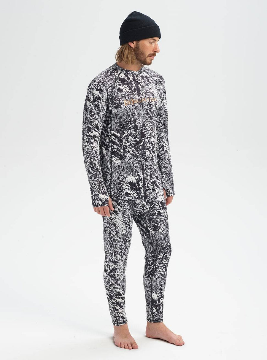 Burton AK Power Grid Base Layer Crew Blotto
