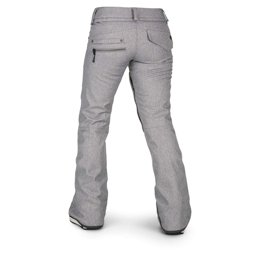 VOLCOM Species Stretch Snowboard Pant Women's Heather Grey 2019 WOMENS OUTERWEAR - Women's Snowboard Pants Volcom