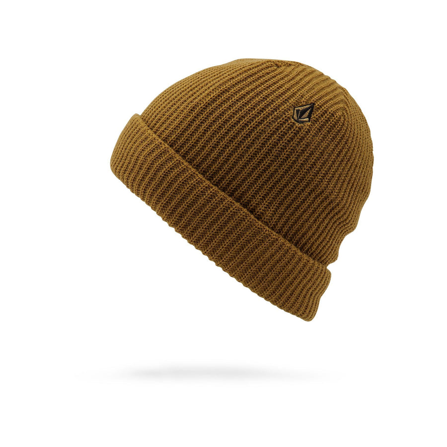 VOLCOM Sweep Lined Beanie Burnt Khaki MENS ACCESSORIES - Men's Beanies Volcom