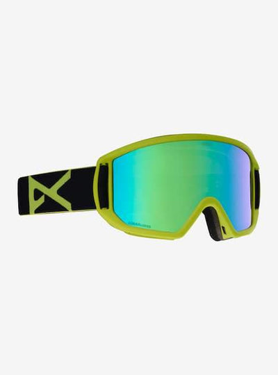 ANON Relapse MFI Black Green - Sonar Green Snow Goggle