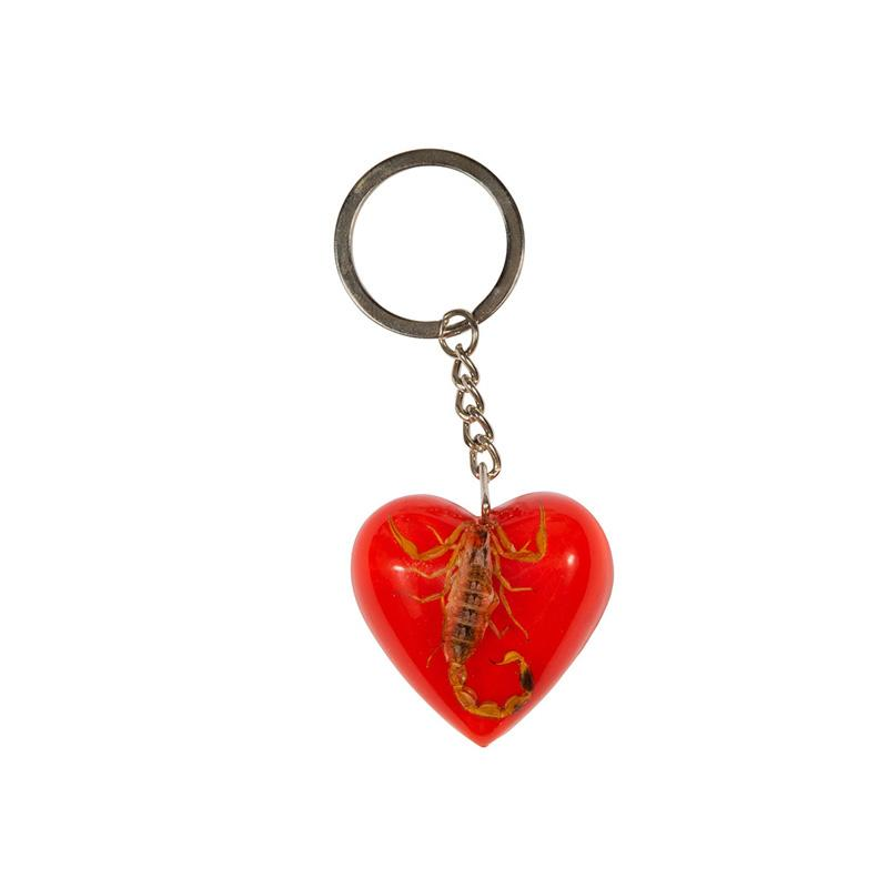 SANTA CRUZ Poison Heart Keychain ACCESSORIES - Lanyards and Keychains Santa Cruz