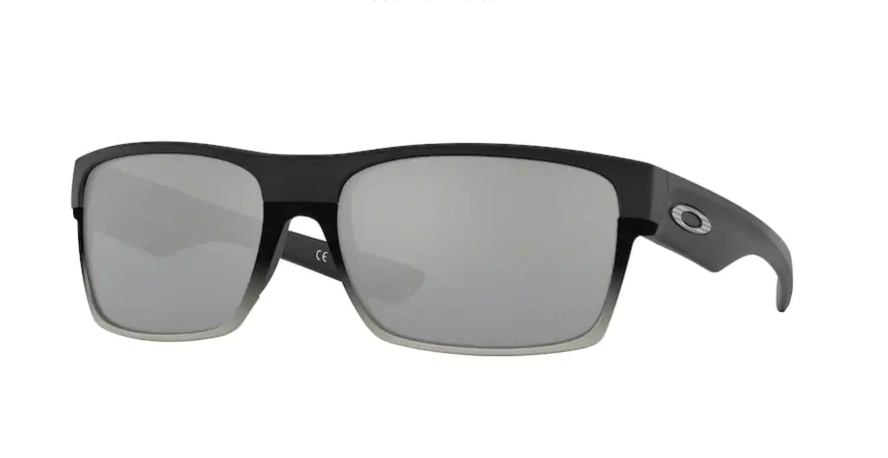 OAKLEY TwoFace Matte Black - Chrome Iridium Sunglasses SUNGLASSES - Oakley Sunglasses Oakley