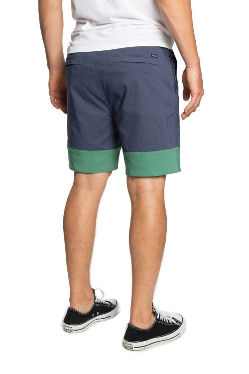 BRIXTON Cinch Crossover Short Washed Navy/Fern