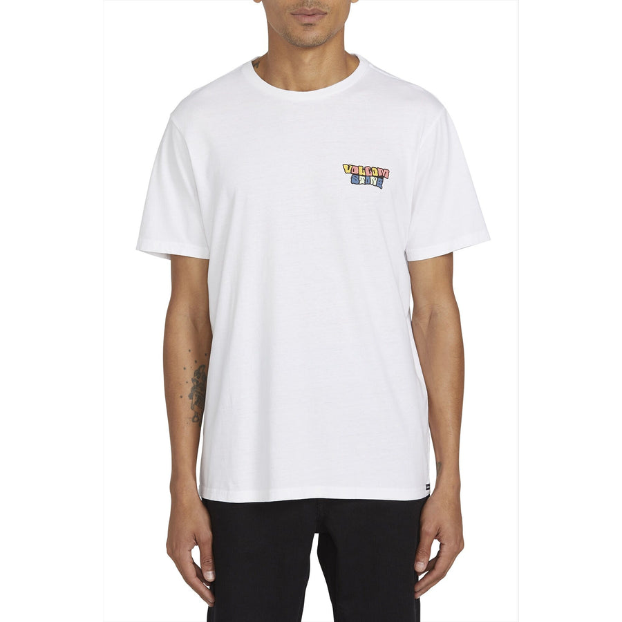 VOLCOM Day Waves T-Shirt White