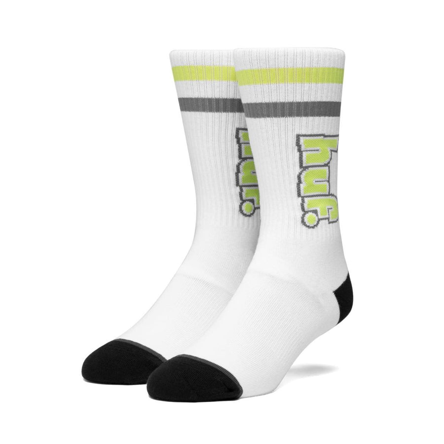 HUF 1993 Stripe Socks White MENS ACCESSORIES - Men's Socks huf