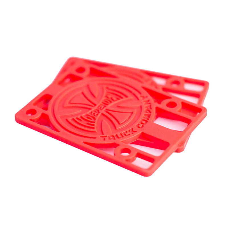 INDEPENDENT 1/8 Red Riser Pads