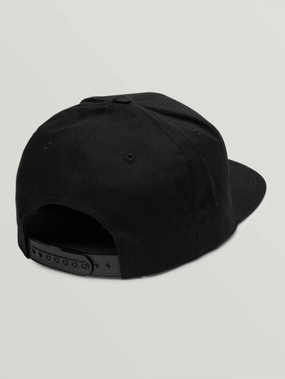VOLCOM Cresticle Snapback Hat Lead