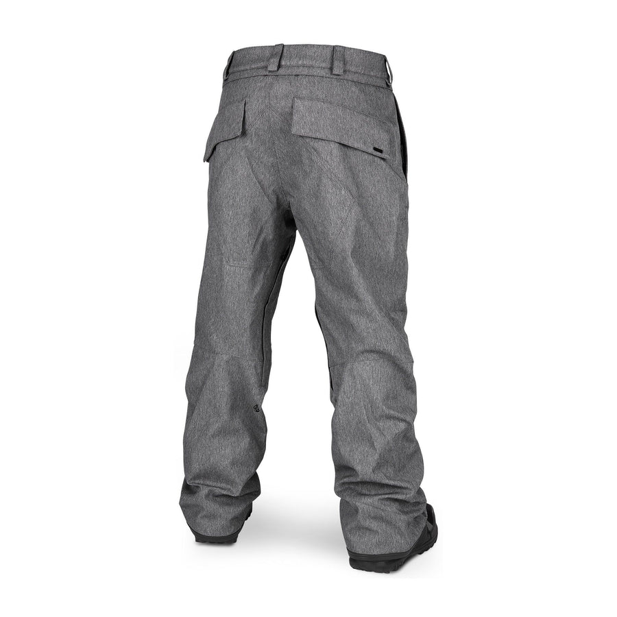 VOLCOM Eastern Insulated Snowboard Pants Heather Grey 2020 MENS OUTERWEAR - Men's Snowboard Pants Volcom L