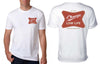 FREERIDE Low Life T-Shirt White MENS APPAREL - Men's Short Sleeve T-Shirts Freeride