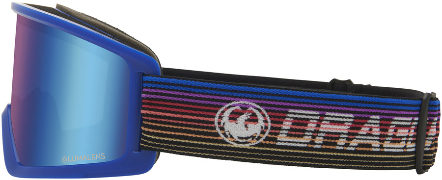 DRAGON DX3 Gamer - Lumalens Blue Ion Snow Goggle GOGGLES - Dragon Goggles Dragon