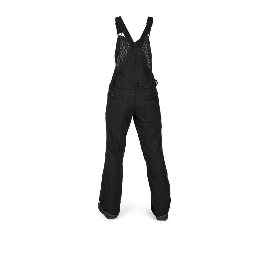 VOLCOM Swift Bib Overall Snowboard Pants Women's Black 2021