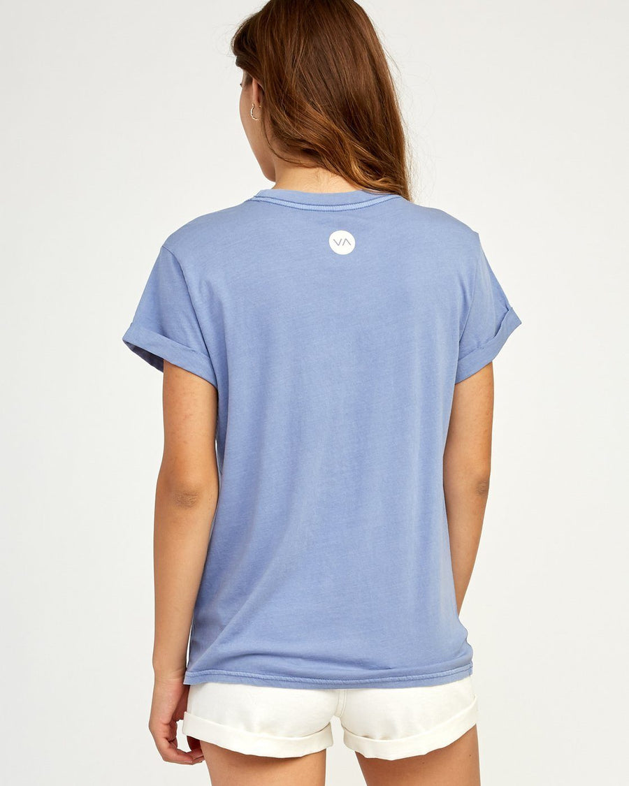 RVCA Everything Is Fine T-Shirt Women's Blue
