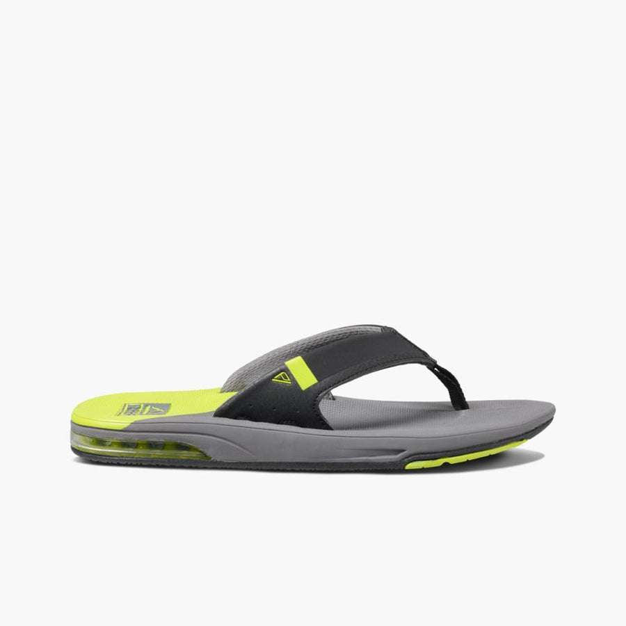 REEF Fanning Low Sandals Grey/Lime