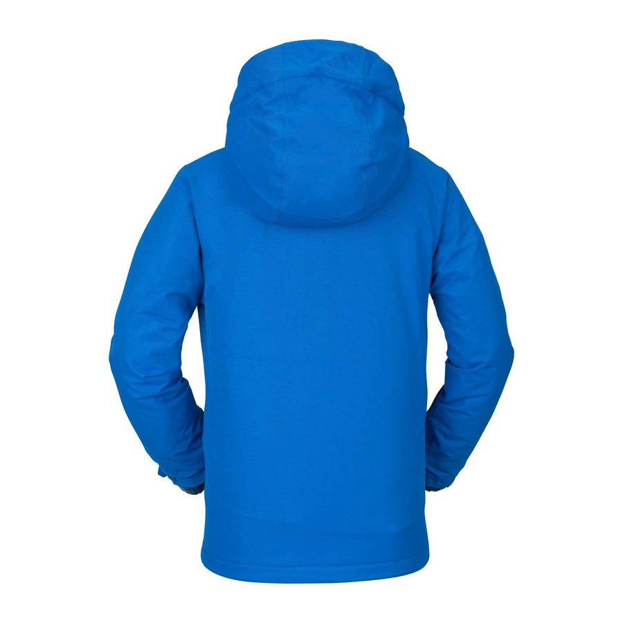VOLCOM 17Forty Insulated Snowboard Jacket Boys Cyan Blue 2021 YOUTH INFANT OUTERWEAR - Youth Snowboard Jackets Volcom
