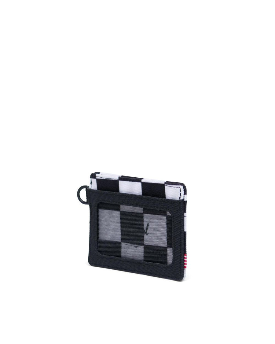 HERSCHEL Charlie ID Wallet Checker Black/White/BlackSave ChangesAdd LabelPrint Label