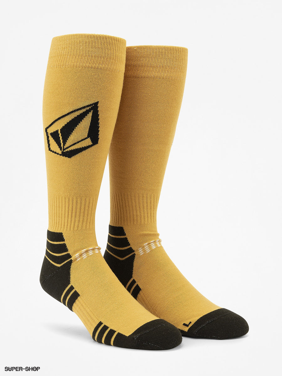 VOLCOM Synth Snowboard Socks Resin Gold