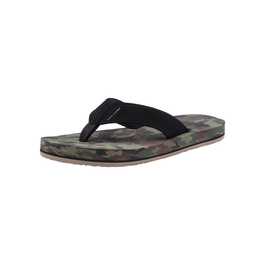VOLCOM Victor Youth Sandals Dark Camo FOOTWEAR - Youth Sandals Volcom 1