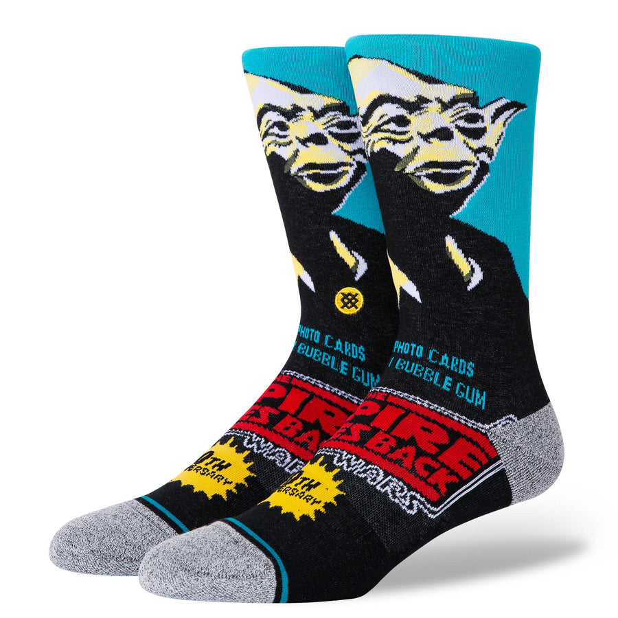 STANCE Yoda 40th Socks Blue MENS ACCESSORIES - Men's Socks Stance