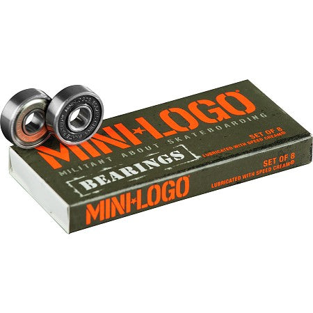 BONES Mini Logo Skateboard Bearings