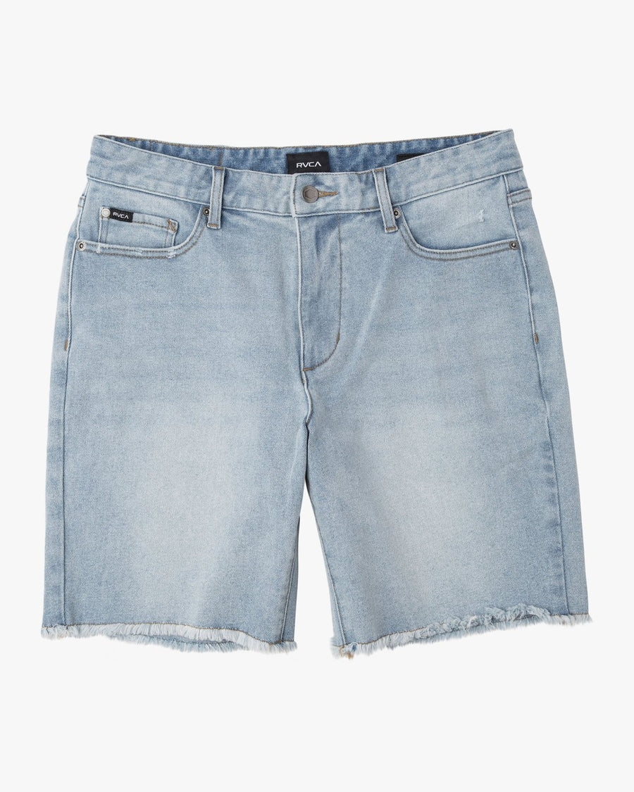 RVCA Daggers Denim Short Original Bleach