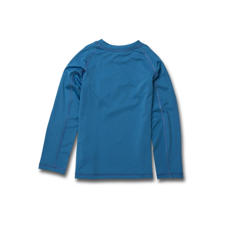 VOLCOM Lido Solid L/S Rashguard Toddler True Blue
