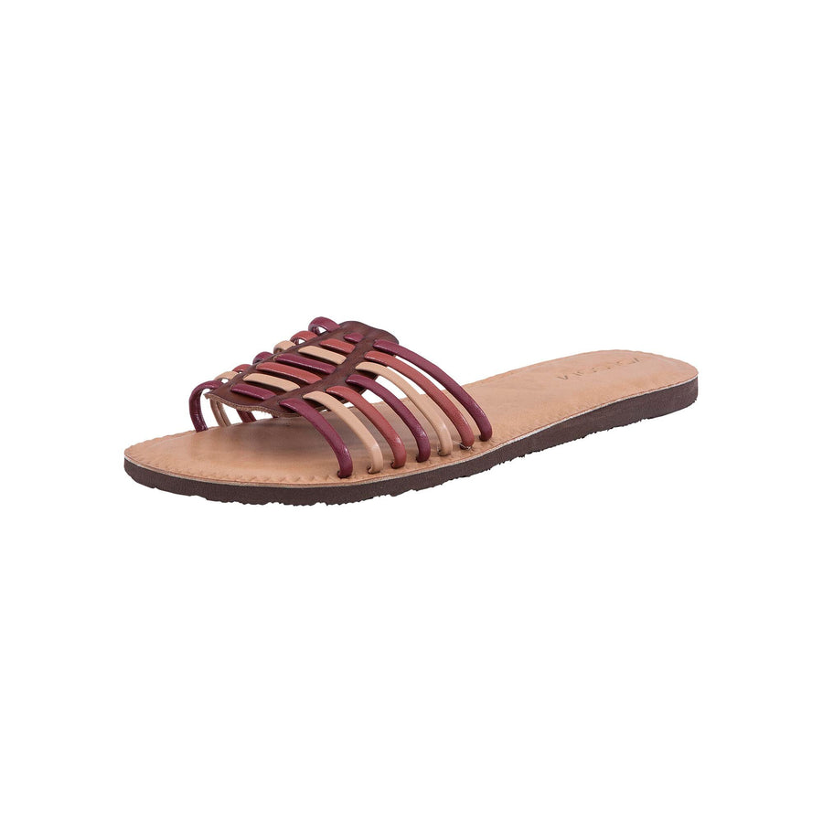 VOLCOM Porto Sandals Women's Bark Brown