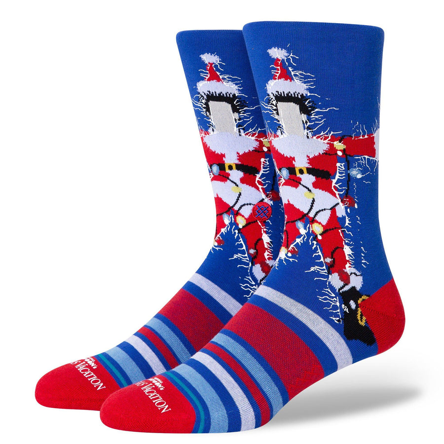 STANCE Christmas Vacation Socks Blue