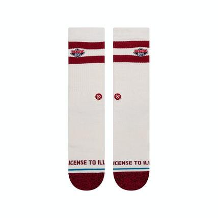 Stance License To Ill 2 Socks Canvas MENS ACCESSORIES - Men's Socks Stance