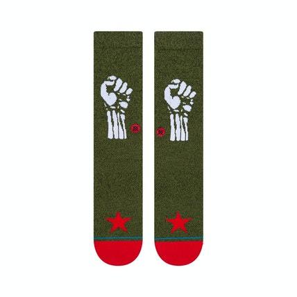 STANCE Renegades Socks Army Green MENS ACCESSORIES - Men's Socks Stance