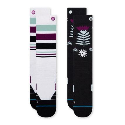 STANCE Monro 2 Pack Snow Socks Multi