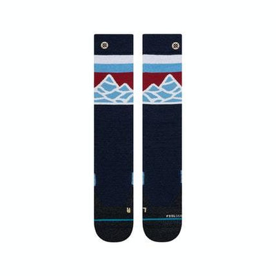 STANCE Spillway Snow Socks Navy SNOWBOARD ACCESSORIES - Men's Snowboard Socks Stance