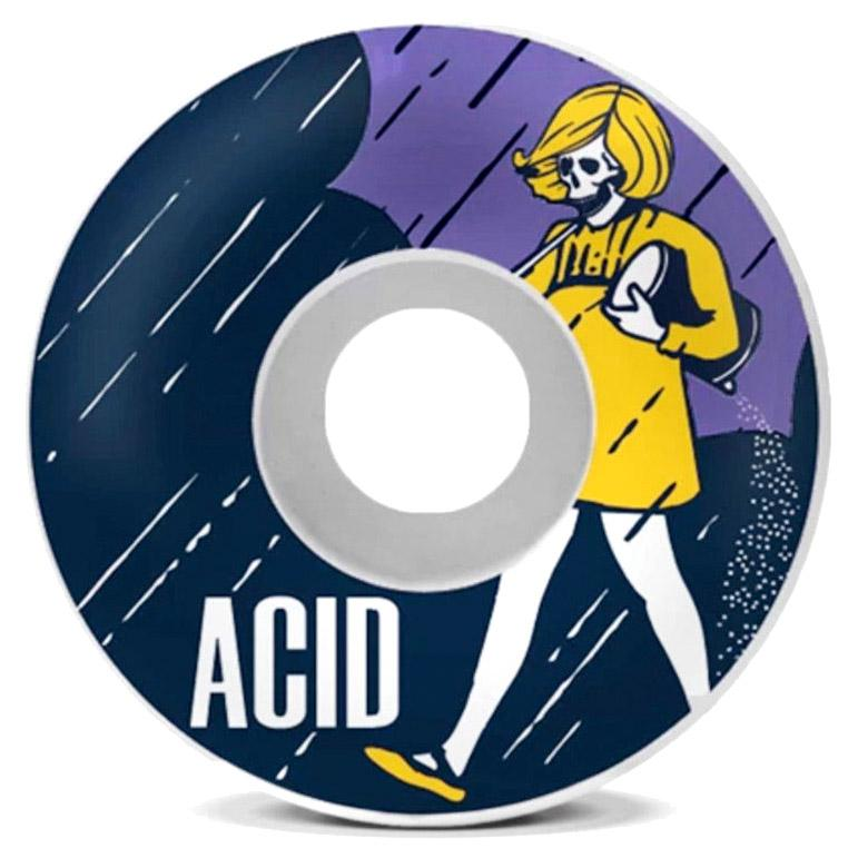 ACID Salt Side Cuts 52mm Skateboard Wheels SKATE SHOP - Skateboard Wheels Acid
