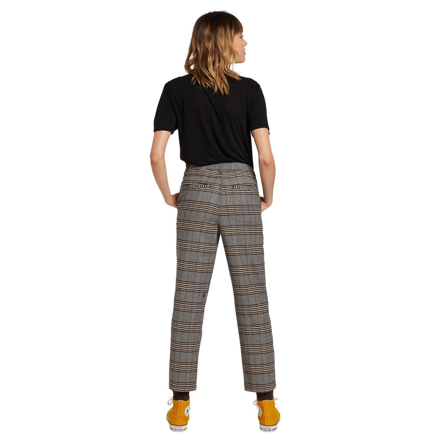 VOLCOM Frochickie Highrise Pant Women's Vintage Gold WOMENS APPAREL - Women's Pants Volcom