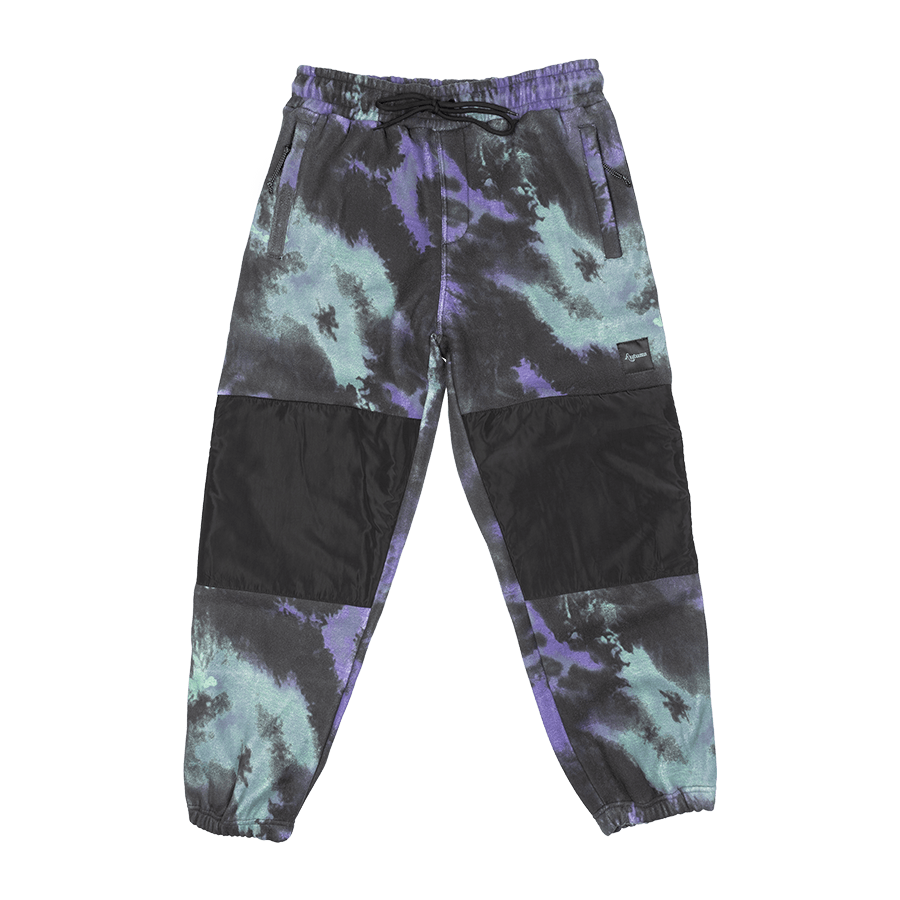 AUTUMN Bask Fleece Pants Tie Dye
