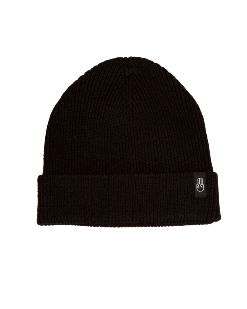 BATALEON Murray Beanie Black MENS ACCESSORIES - Men's Beanies Bataleon