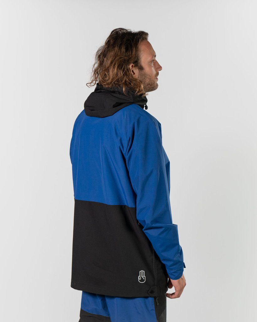 BATALEON Slider Anorak Blue MENS APPAREL - Men's Street Jackets Bataleon