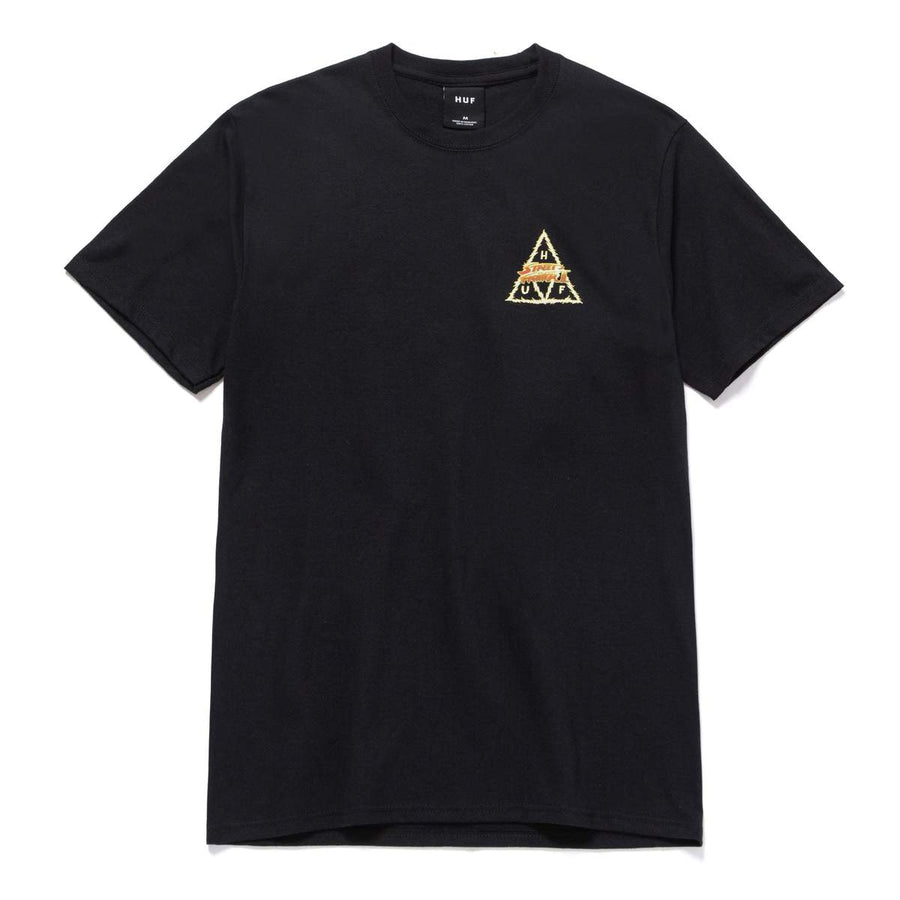 HUF x Street Fighter Blanka Triple Triangle T-Shirt Black