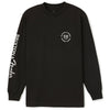 BRIXTON Fender Highway L/S T-Shirt Black MENS APPAREL - Men's Long Sleeve T-Shirts Brixton