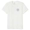 BRIXTON Fender Highway T-Shirt Off White MENS APPAREL - Men's Short Sleeve T-Shirts Brixton