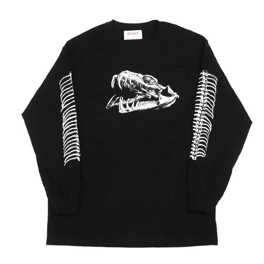JENNY Venom L/S T-Shirt Black MENS APPAREL - Men's Long Sleeve T-Shirts Jenny